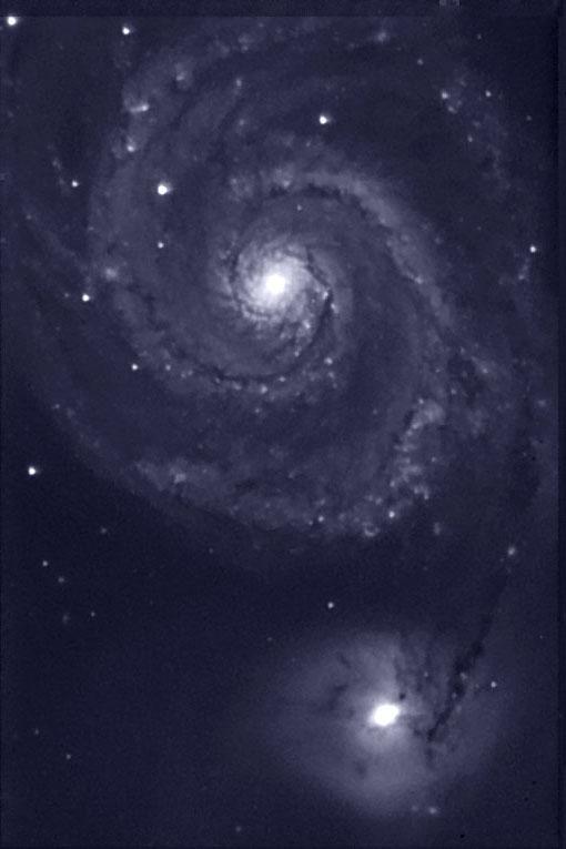 Noćno nebo M51_lcmx